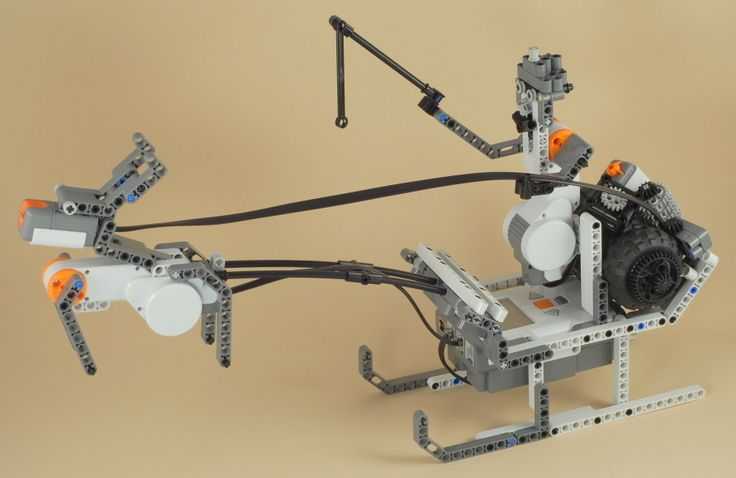LEGO Mindstorms NXT Santa and Rudolph