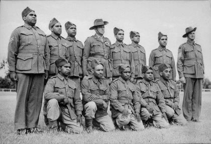 Lest we forget..indigineous soldiers fought for our country at a time when our government did not acknowledge them as citizens or allow them to vote. We will remember them.