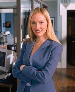 Donnatella Moss - The one person who can keep Josh Lyman in line on The West Wing.