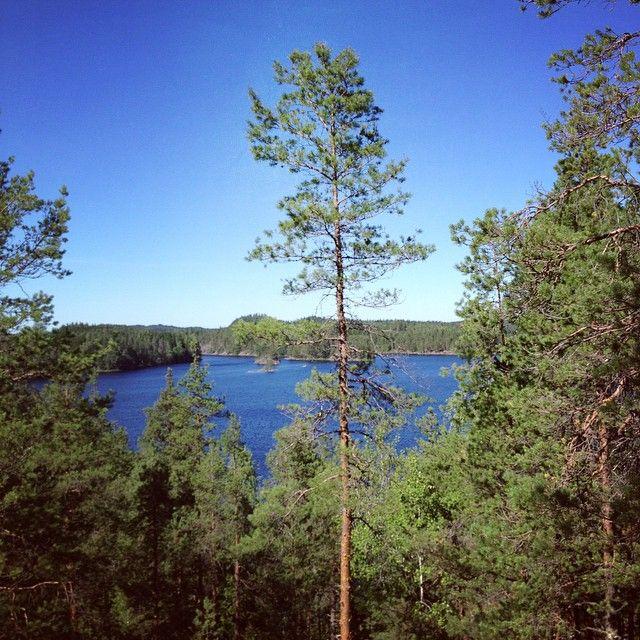 Lake Saimaa, Sulkava, Finland.