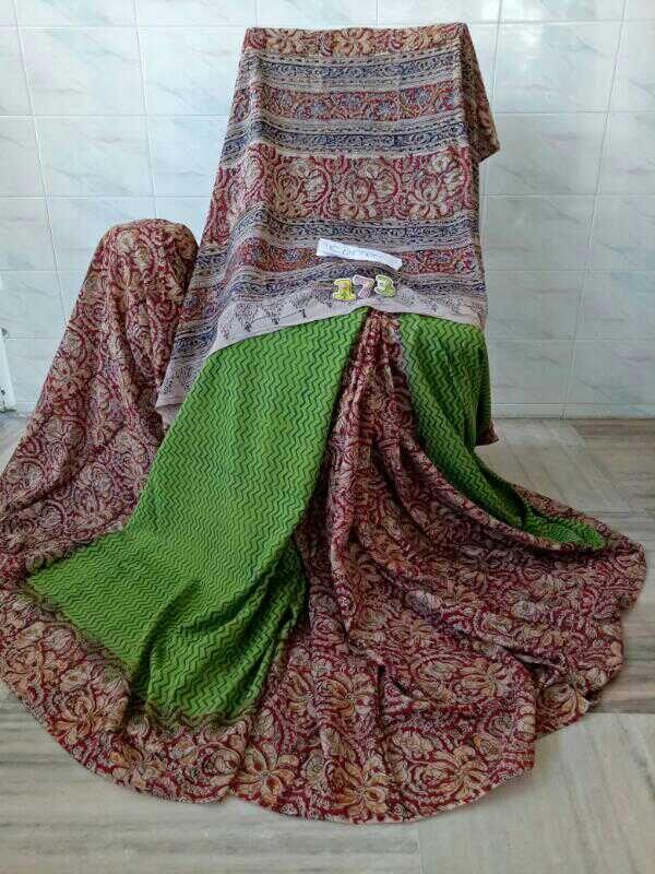 Kalamkari cotton sarees 2