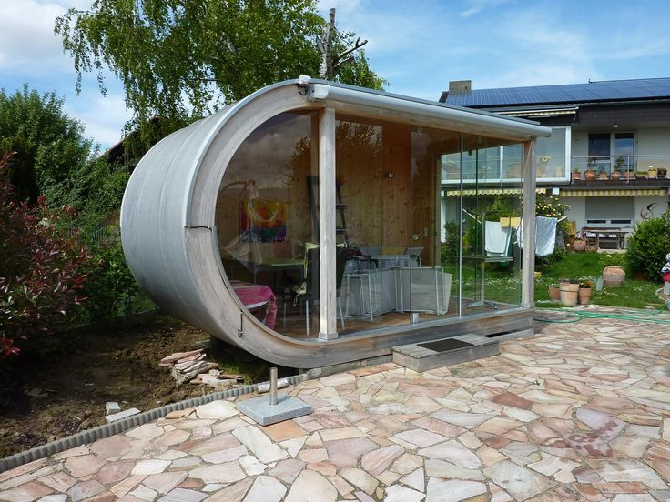 Cabane de jardin contemporain cabane de jardin pinterest for Cabanes de jardin belgique