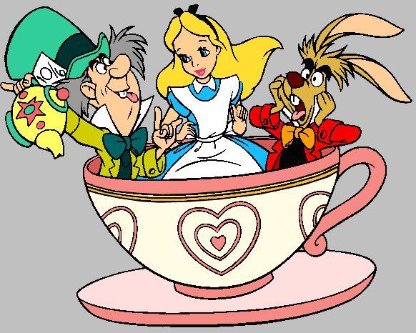 Alice in wonderland tea party more alice in wonderland - Alice in wonderland cartoon pictures ...