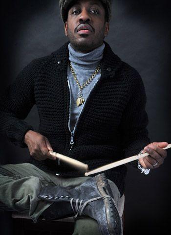 Steve Jordan. You drum whenever you can, wherever you can, and on whatever you can. ;)