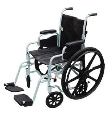 Get a 2-in-1 wheelchair for your home!  This is a transport wheelchair (will go through narrow bathroom doorways) and a standard wheelchair (large outer wheels make ramps, propelling on carpet/grass) in one!  To learn more Click here:  http://tipsfromapt.com/drive-poly-fly-transforming-wheelchair-review-the-2-in-1-solution