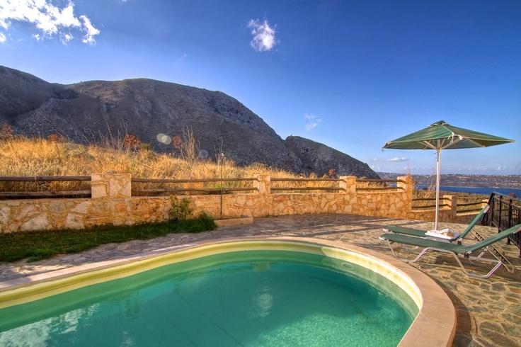 Villa Stratos Crete swimming pool