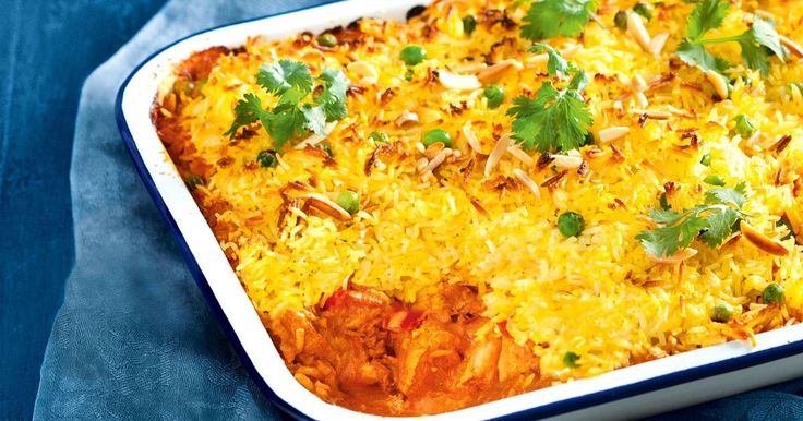 Spice up your rice with aromatic Indian flavours.