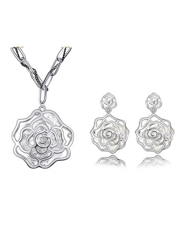 Austrian Crystals Roses Sets
