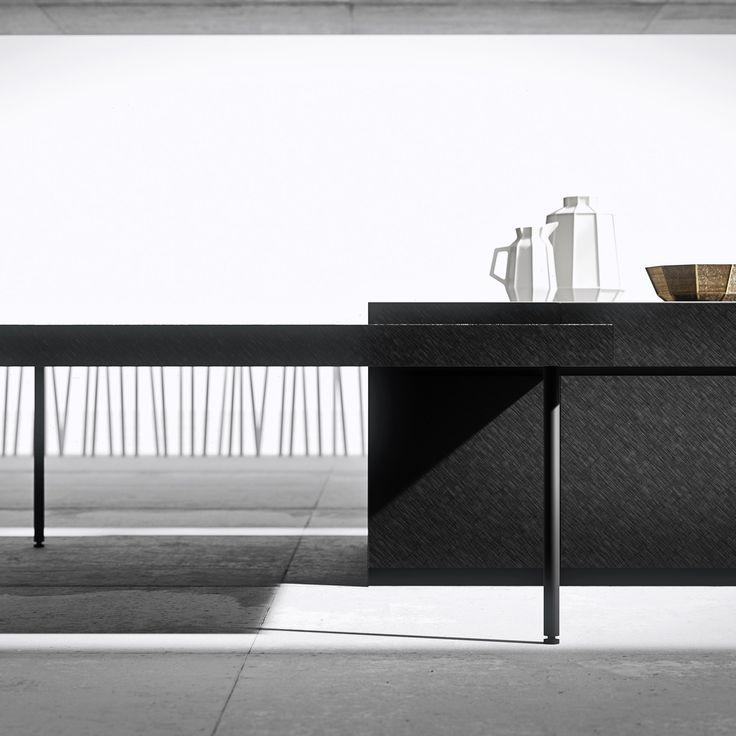 H.10+ kitchen by Heron Lab #kitchens #modernkitchens #madeinitaly #aluminium #aluminiumkitchen #architecture #interiordesign