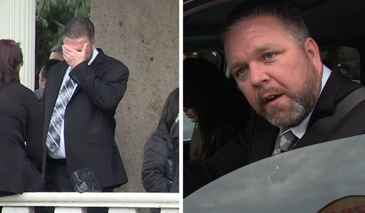 Big Ang -- Estranged Hubby Neil Murphy Breaks Down at Funeral (VIDEO)