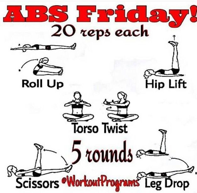 Abs Friday!