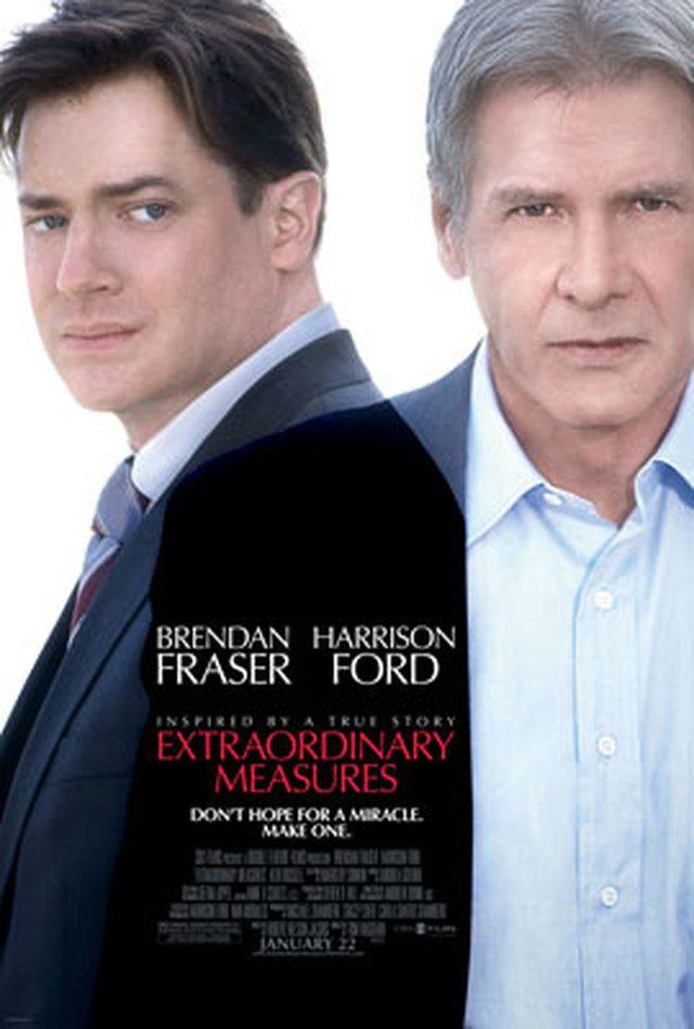 'Extraordinary Measures' Movie Poster: 'Extraordinary Measures' Movie Poster