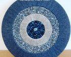 Mandala azul - 50cm de diametro