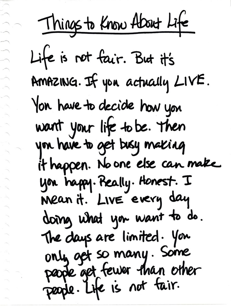 best words of wisdom quotes images remember life is not fair