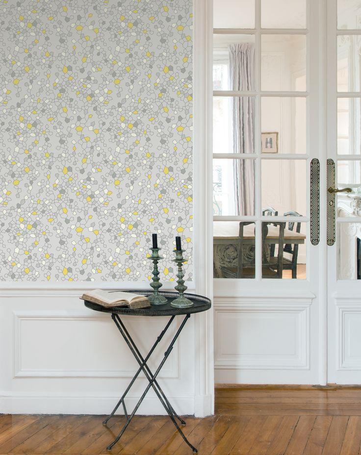 papier peint candy stone collection standard par sophie lacasse chez ressource couleurs. Black Bedroom Furniture Sets. Home Design Ideas