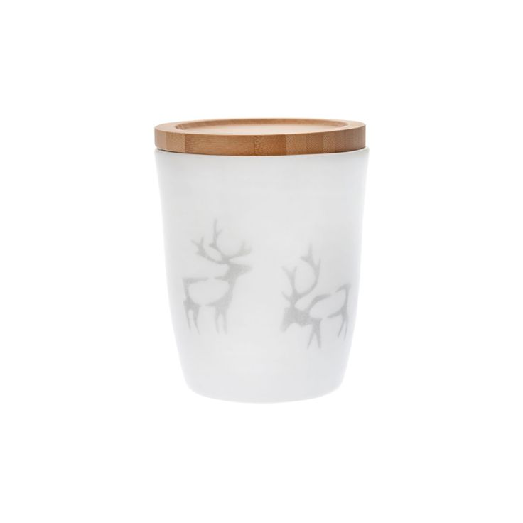 True to the Nordic nature and Scandinavian spirit, reindeer and antlers adorn…