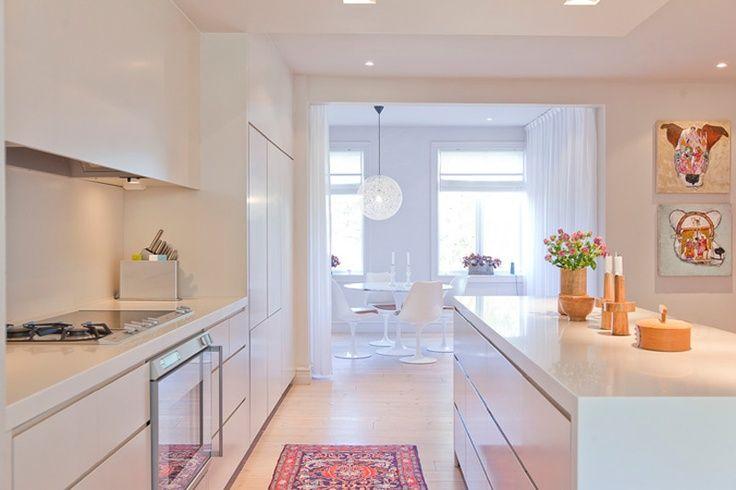Resultado de imagem para cozinha branca