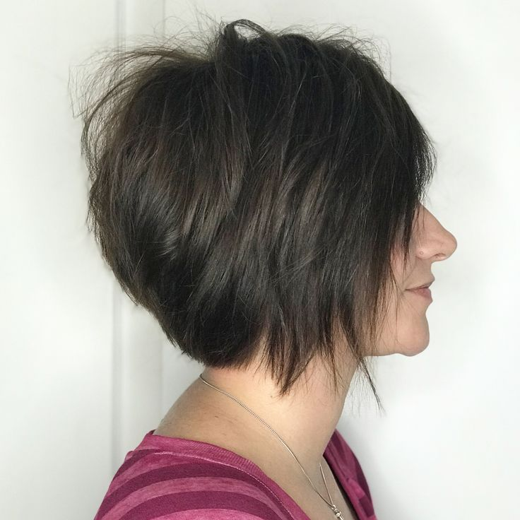 """25 Likes, 3 Comments - Shan Johnson Hairstylist (@hairartist.shan) on Instagram: """"Asymmetrical bobs this week I might need to cut my hair. #asymmetricalbob #shorthair #hairstylist…"""""""