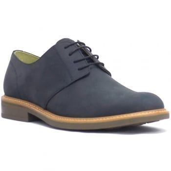 These Gleneagles Derby shoes from Steptronic are a sleek and stylish pair for a formal footwear collection. Crafted from premium leather, they are finished in a waxed navy  crazy horse leather and feature a padded sheepskin insole for a comfortable fit. https://www.marshallshoes.co.uk/mens-c1/steptronic-mens-gleneagles-navy-waxed-crazy-horse-4-eyelet-tie-shoes-p4659