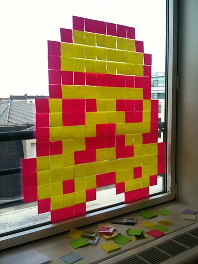 Fabuleux 25+ unique Post it art ideas on Pinterest | Art installation  ND87
