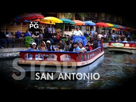 ▶ ✈San Antonio, Texas ►Vacation Travel Guide - YouTube  Nice shots of Mi Tierra and Alamo