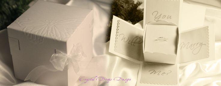 Explosion box per una proposta di matrimonio originale!