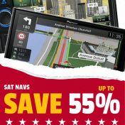 Sat Navs Satellite Navigation January Sale Car Audio Centre