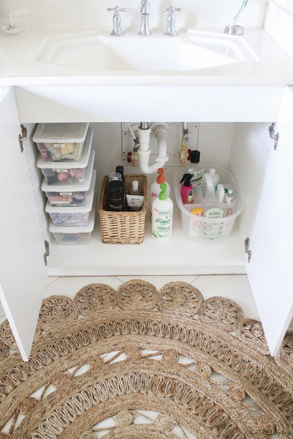 Bathroom Organization Ideas And Minimalist Checklist Minimalist