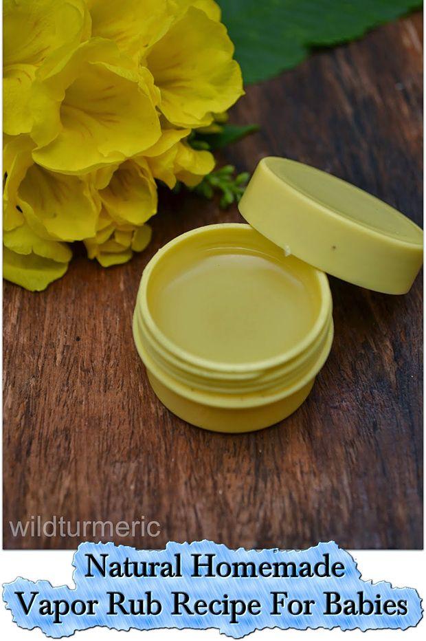 Natural Homemade Vapor Rub Recipe For Babies