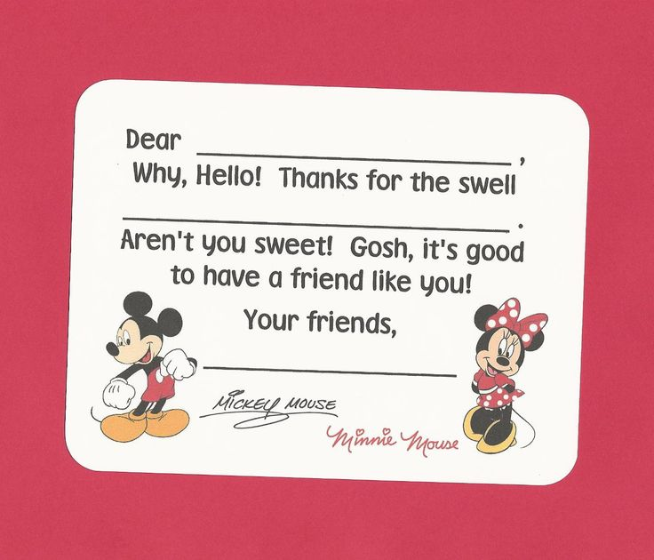 Best Fill In The Blank Thank You Notes Images On