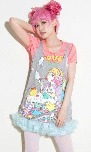 Fairy Kei, Harajuku, Japan, Moda Kawaii, dress, Kawaii outfits, Pastel, Crazy and Kawaii Desu, Kawaii, Japan, Moda Kawaii,