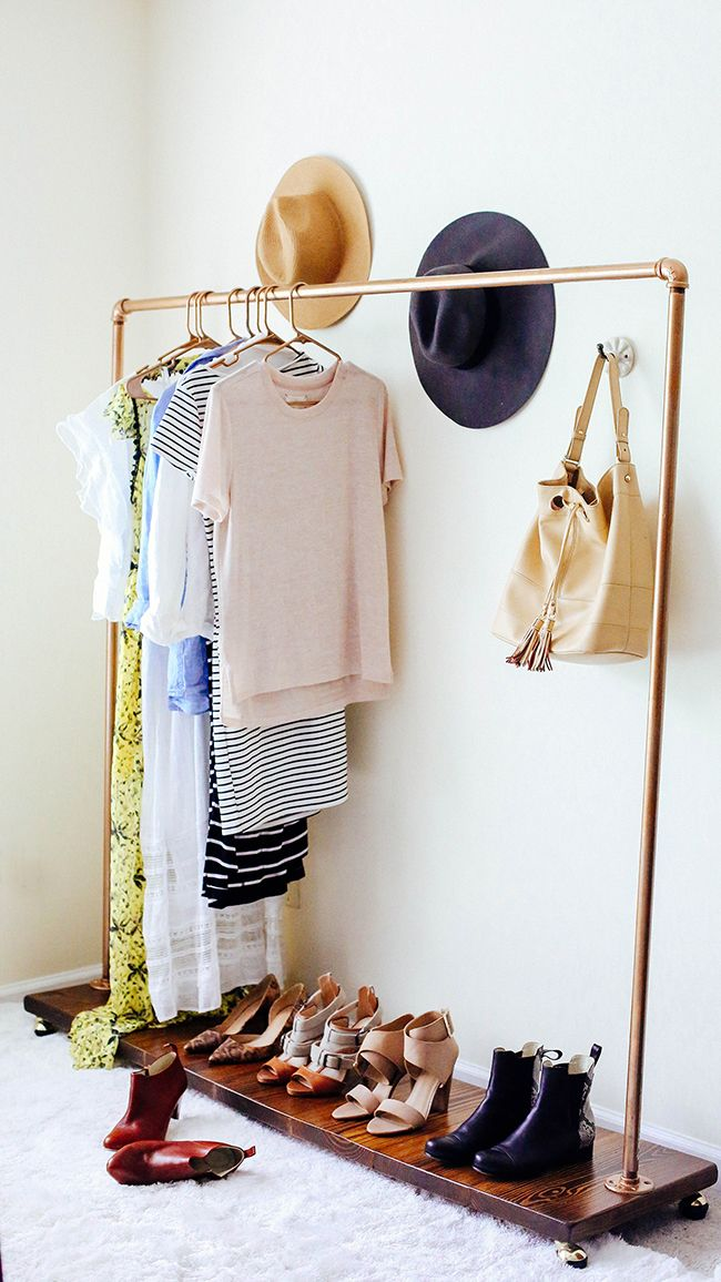 garment rack via in honor of design - Clothes Hanger Rack