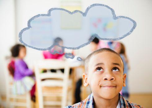 Image result for black child thinking