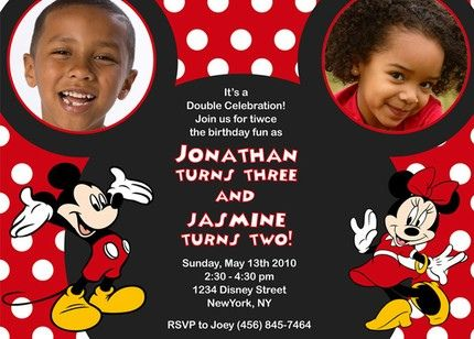 99 best images about Mickey and Minnie party – Mickey and Minnie Party Invitations
