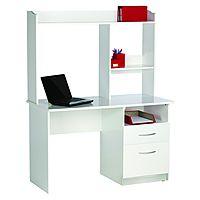Workspace Swinburn Computer Workstation White
