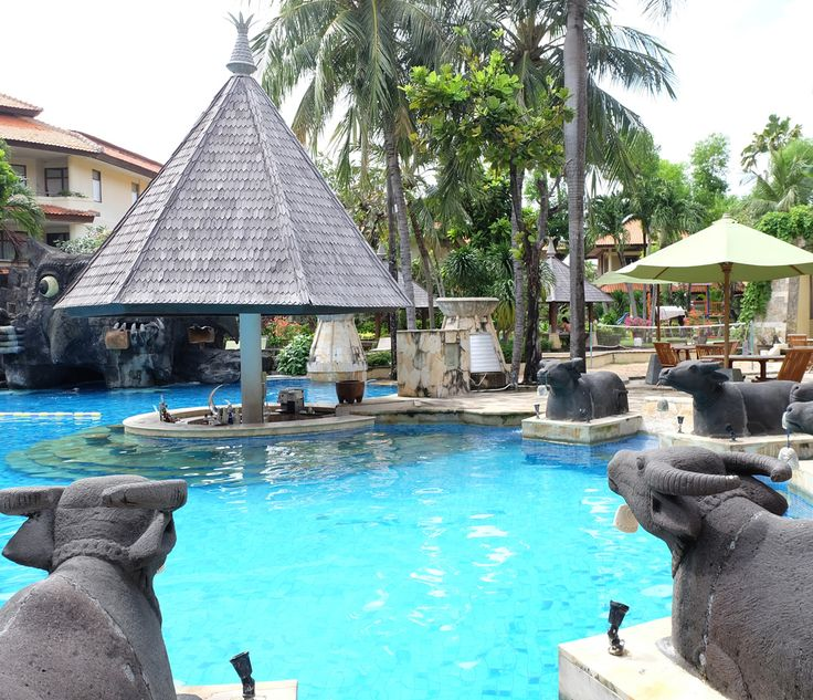 A glittering lagoon pool, lush tropical gardens, sumptuous food, and warm Balinese hospitality is just a few things that you can expect here at #TheTanjungBenoaBeachResortBali!   #thetanjungbenoabeachresortbali #thetanjungbenoa #TheTaoBali #bali