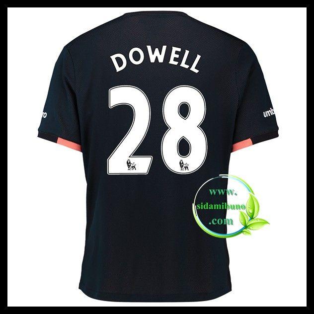 Fotballdrakter Everton DOWELL #28 Bortedraktsett 2016-2017