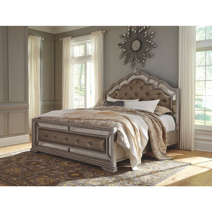 Fleur De Lis Living Randell Upholstered Platform Bed Reviews Wayfair King Upholstered Bed Bedroom Furniture Sets Queen Upholstered Bed