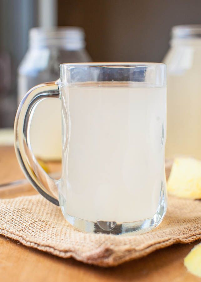 Homemade Ginger Ale (vegan, GF) - Kick back with a glass of your own ginger ale. So easy it's almost work-free!