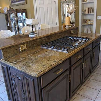 range in island kitchen featuring a built in gas range this island was made for 21415