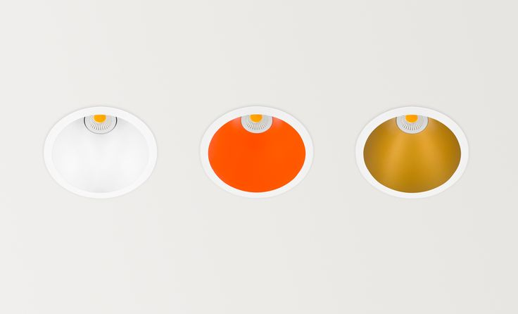 Swap colours - LED luminaire. Ceiling Downlight (Ceiling Recessed) -- in Arkoslight