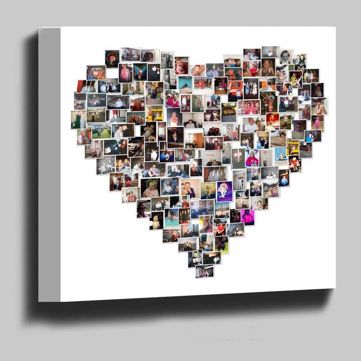 Best 10+ Heart shaped photo collage ideas on Pinterest | Photo ...