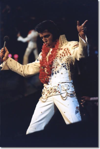 Elvis made television and entertainment history with his 'Elvis: Aloha from Hawaii - Via Satellite' concert special. The show was performed at the Honolulu International Center Arena on January 14, 1973 at 12:30 AM Hawaiian time. The concert was beamed live via Globecam Satellite to Australia, South Korea, Japan, Thailand, the Philippines, South Vietnam and other countries, and was seen on a delayed basis in approximately thirty European countries. -
