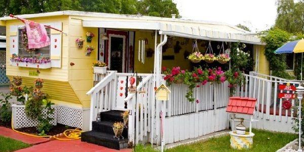 Mobile Home Exterior Decorating
