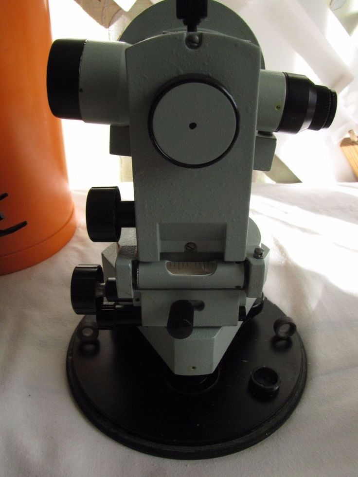 Russia Vintage Optical Theodolite 2T30 USSR Best Quality Build Engineering n2 #USSRSovietUnion