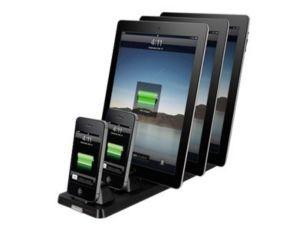 XtremeMac InCharge X5 - digital player / phone / web tablet charging statio - 02605 - Notebook Docks & Port Replicators - CDW.com