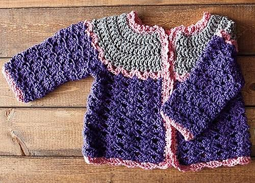 Crochet Patterns Etc : Crochet Patterns Galore - Patty Cake Cardi