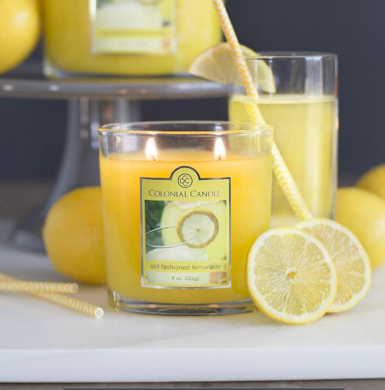 Colonial Candle Of Cape Cod Part - 35: Old Fashioned Lemonade - Fresh Squeezed Lemons Mixed With Sugar Crystals  Make For The Perfect Cape