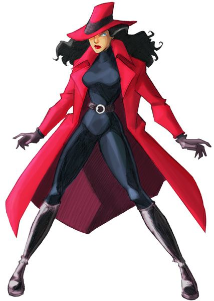 Carmen Sandiego...I remember her!