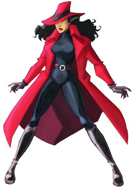 Carmen Sandiego...I remember her!